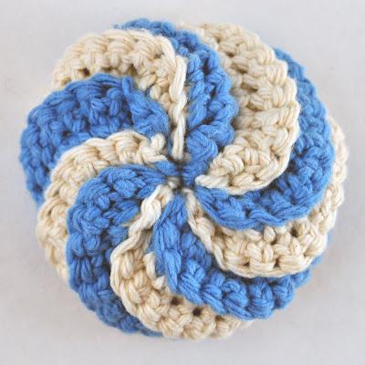 CrochetBeautyShoppe: Crochet Tawashi Scrubbies