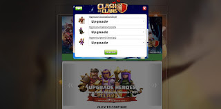Script Phising Clash of Clans Inject Loot Modern