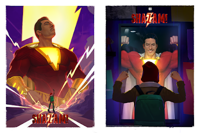SHAZAM! Fine Art Prints by Robin Har x Bottleneck Gallery x DC Comics