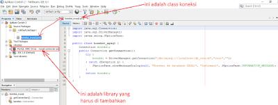 3 - Tutorial Java Netbeans – Cara Gampang Menampilkan Data Yang Ada Di Database Mysql