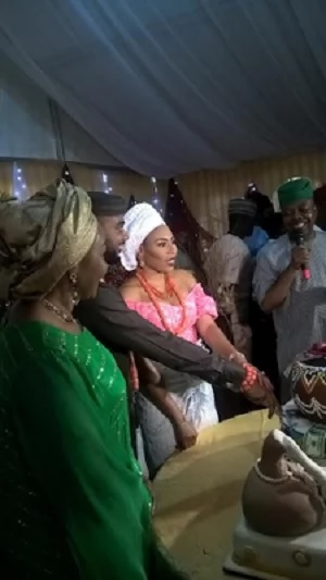 First photos from Miriam Ali's traditional wedding