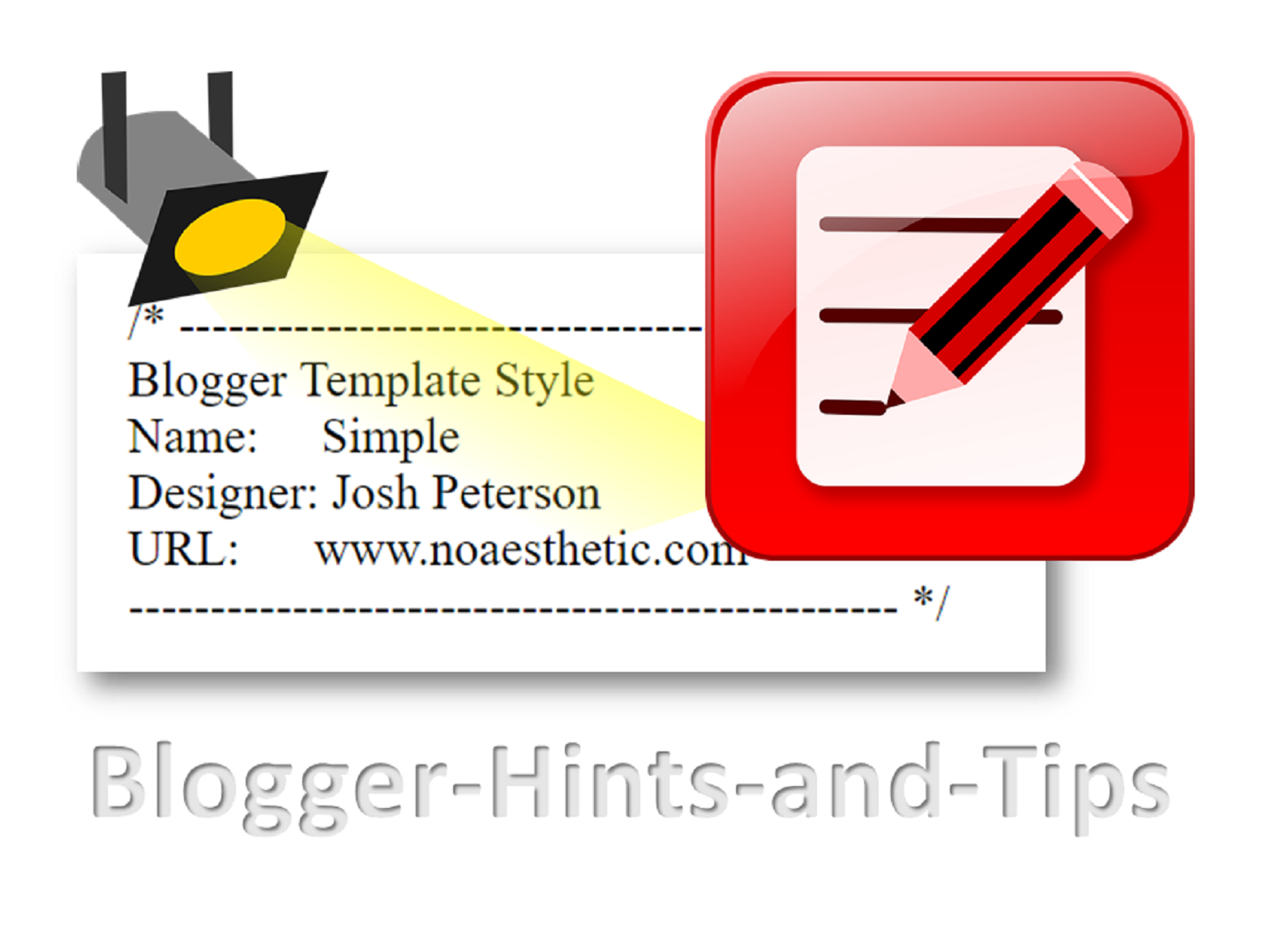 changing the theme name and designer name blogger hints and tips