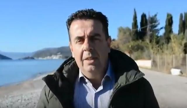 Δ.Κωστούρος: Είναι της πλάκας ...η κριτική σας για την παρέμβαση στην παραλία της Πλάκας Δρεπάνου (βίντεο)