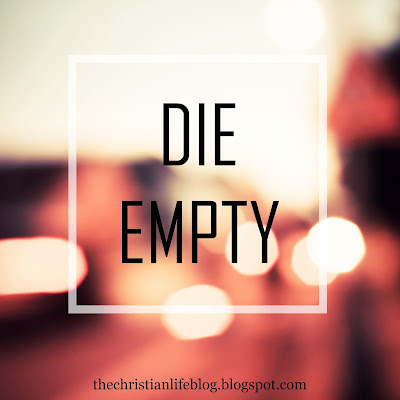 What It Means To Die Empty