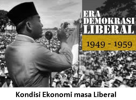 6 Kondisi Ekonomi pada Masa Liberal (1950-1959) + Kebijakan Pemerintah
