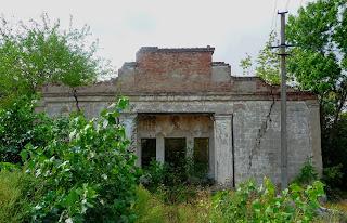 Клебан-Бык. Руины