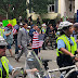 'Not in my town': Counterprotesters outnumber Unite the Right 2 white nationalists in DC