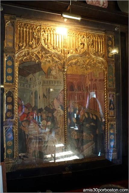 Cuadro Tortura del Comedor del Castillo Hammond, Gloucester