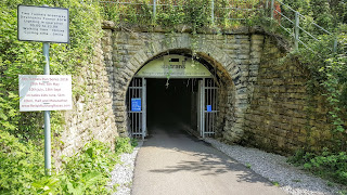 Two Tunnels cycle path near Bath