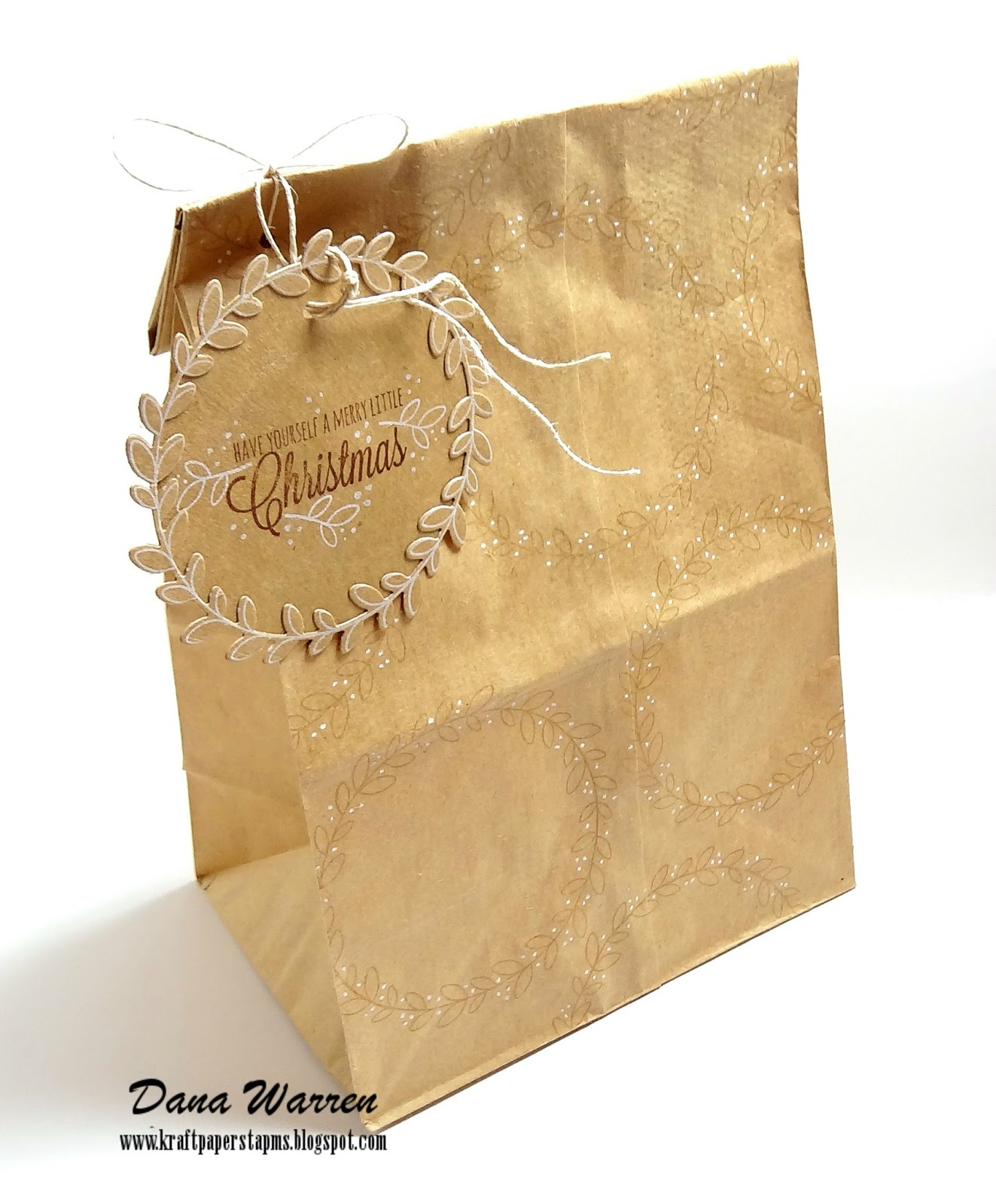 Dana Warren - Kraft Paper Stamps - Papertrey Ink