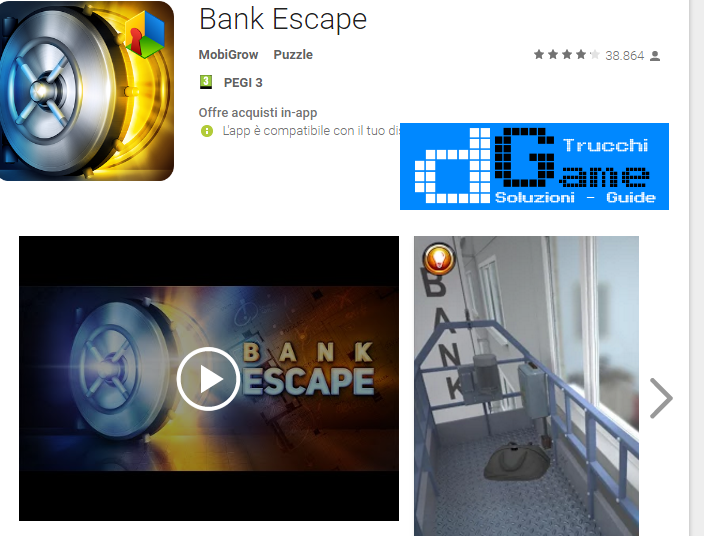 Soluzioni Bank Escape livello 11-12-13-14-15 | Trucchi e Walkthrough level