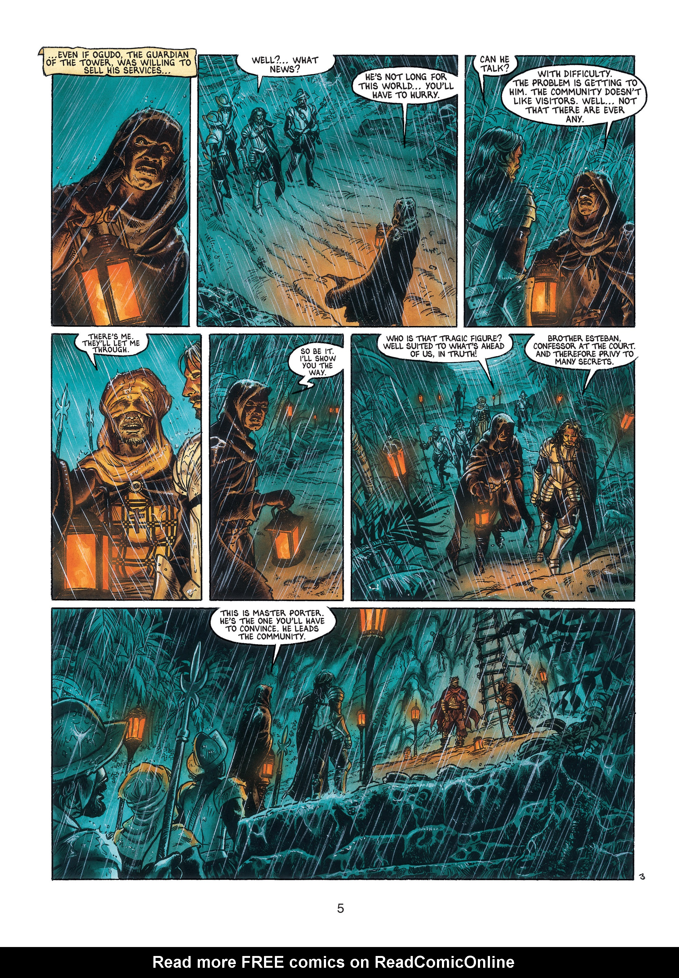 Read online Barracuda comic -  Issue #3 - 6