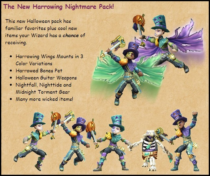 What To Expect For October in Wizard101? - Stars of the Spiral