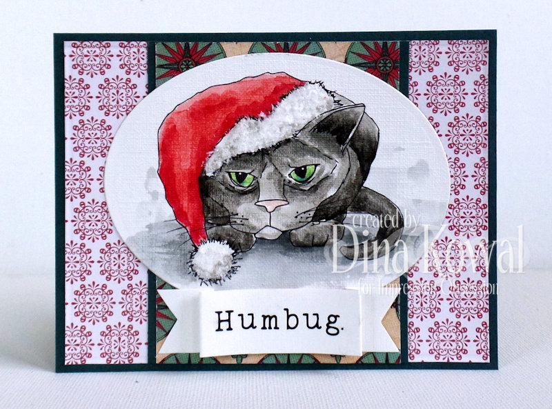 To Finish Off The Week How About A Couple Of Holiday Animal Images This Kitty Is For Party Poopers With Little Humbug Go Along Him