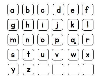 Joyful Learning In KC: Alphabet Games