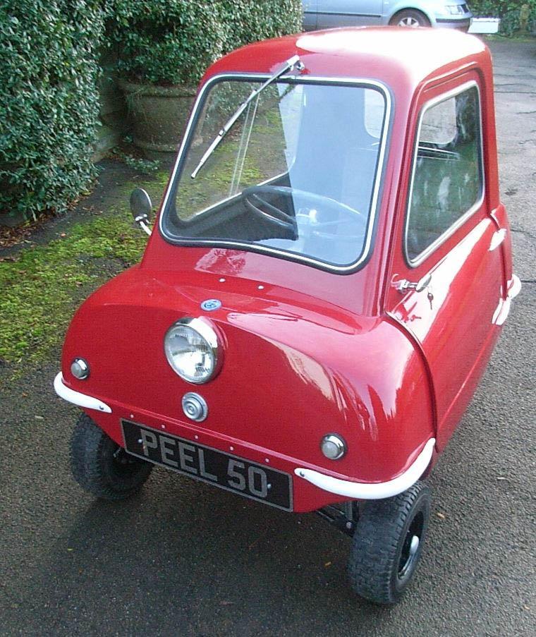 p50 peel world 39 s smallest production car. Black Bedroom Furniture Sets. Home Design Ideas