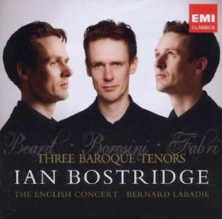 Ian Bostridge Three Baroque Tenors CD cover