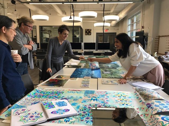 Textile Design Philadelphia University Graduate Studio