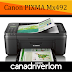 Canon PIXMA MX492 Driver Download - For Mac , Windows And Linux