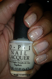OPI, NYC Ballet Collection, Don't Touch My Tutu, Pirouette My Whistle, nail art, mani