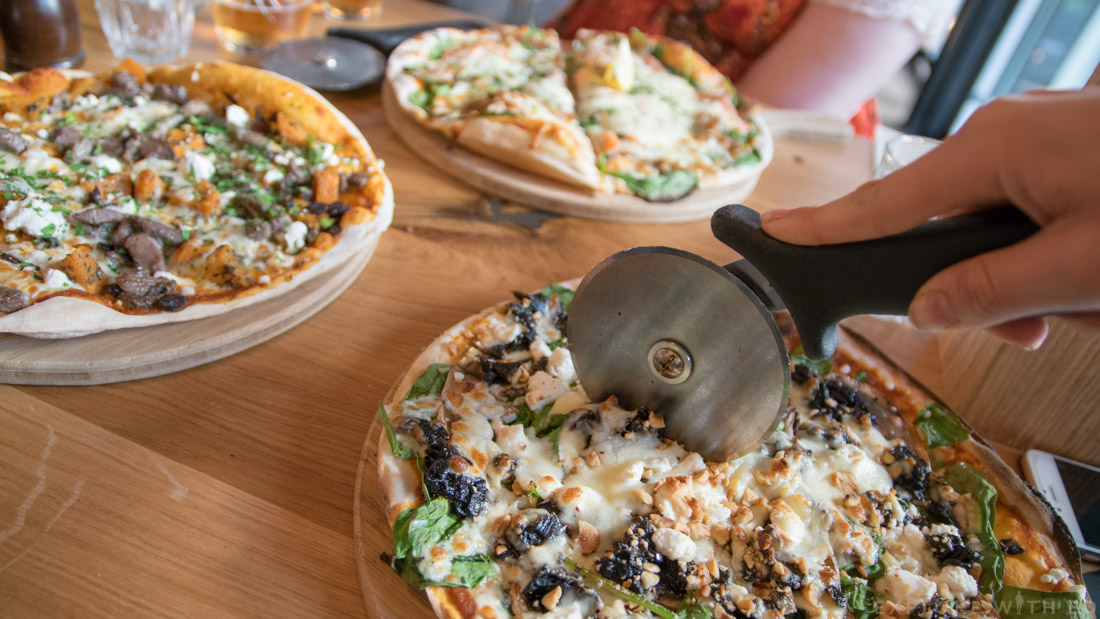The Billy The Kid Pizza, Woolly Welshman Pizza, The Stable