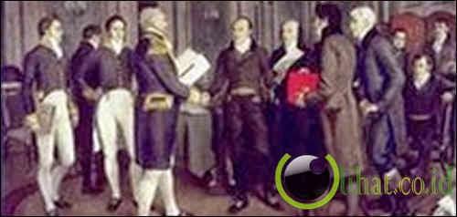 War of 1812: disebabkan oleh cacat ringkas komunikasi