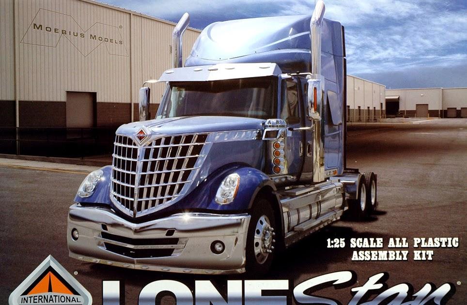 Scale Model News: 1:25 SCALE INTERNATIONAL LONESTAR TRUCK ...