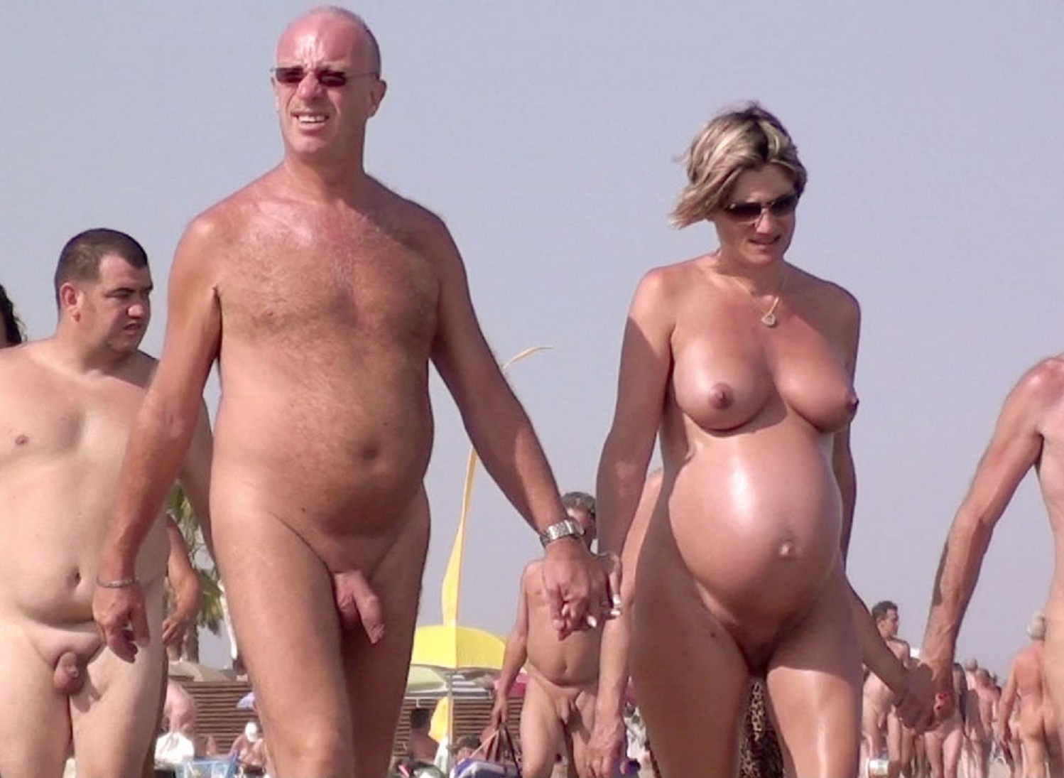 naked in cap d agde