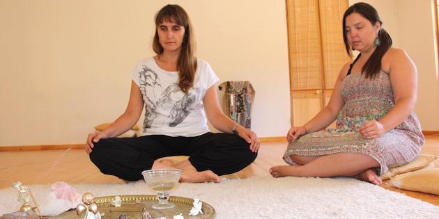 Meditación en Casa Guangualí