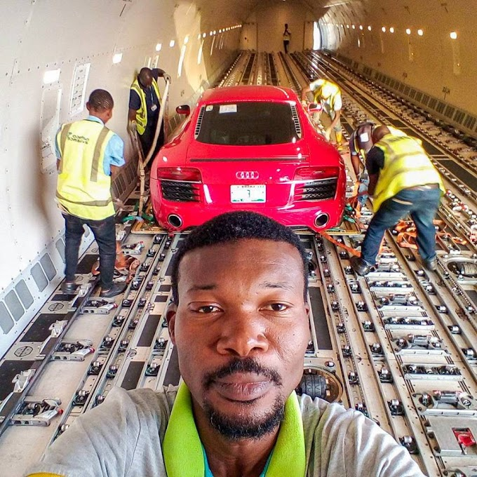 » Luxury Audi R8 Car Worth Over N40million Spotted At Lagos Airport (Photos) «
