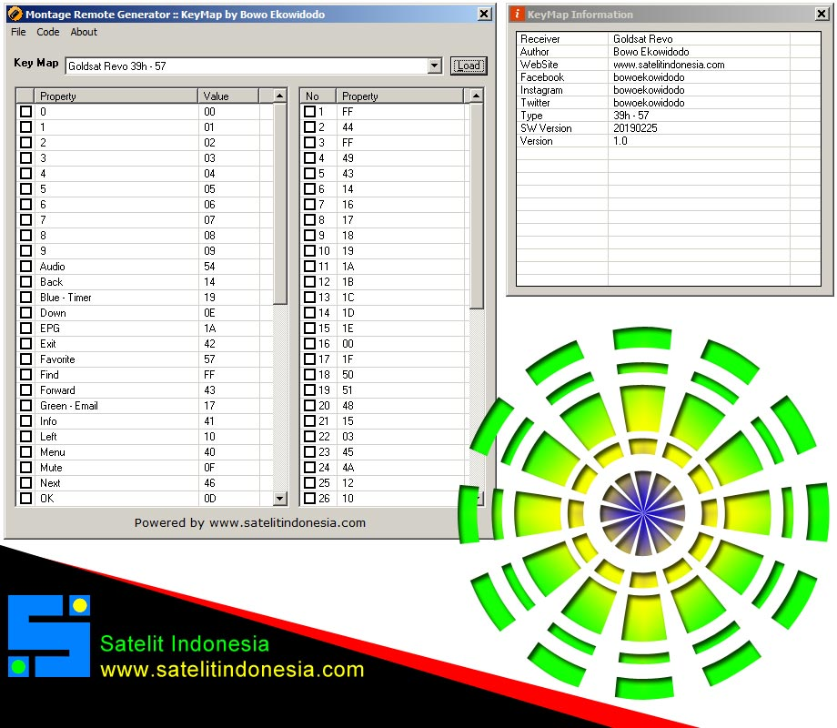 Download Kode Remote Receiver Goldsat Revo
