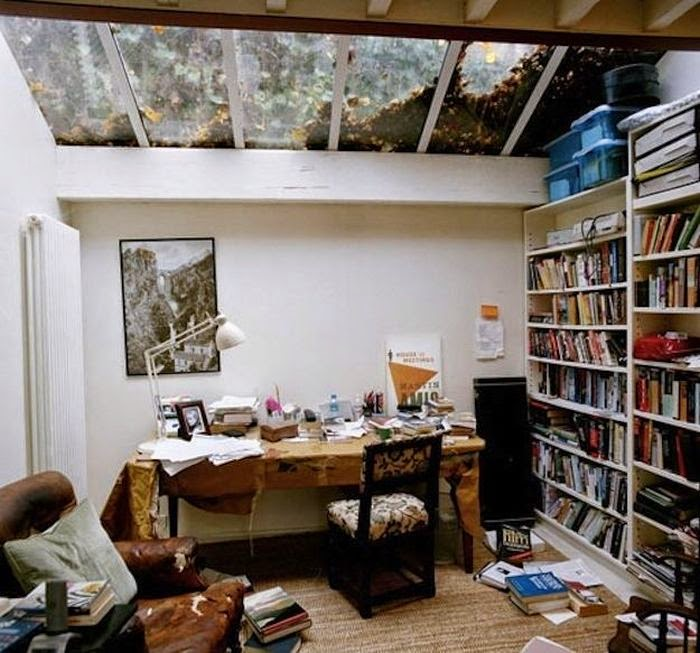 Workspaces Of The Greatest Artists Of The World (38 Pictures) - Martin Amis, novelist