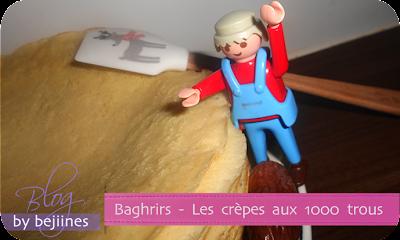 Recette - Baghrir : Les crêpes aux 1000 trous
