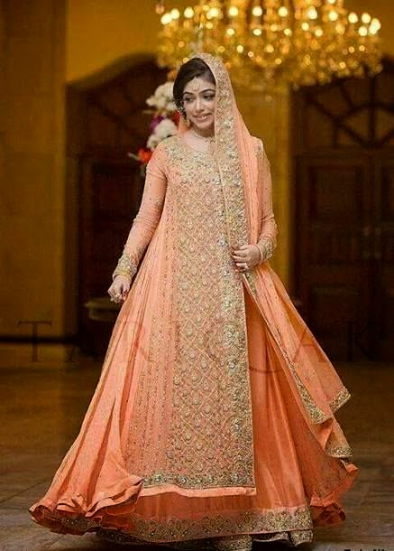Bridal Dresses 2015 For Beautiful Pakistani Girls