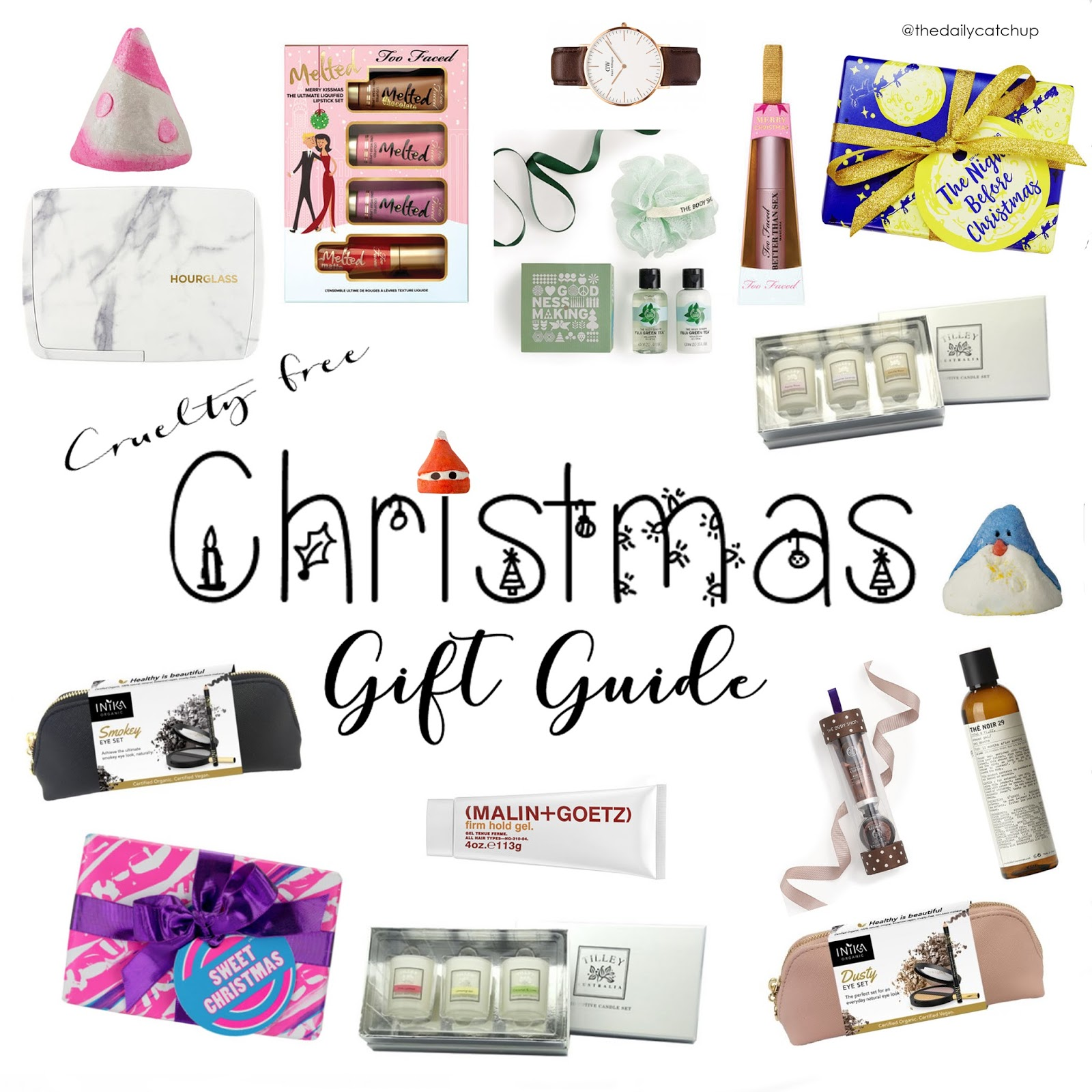 TDC: Cruelty free christmas gift guide