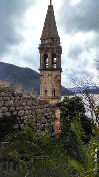 Колокольня в Перасте, Черногория