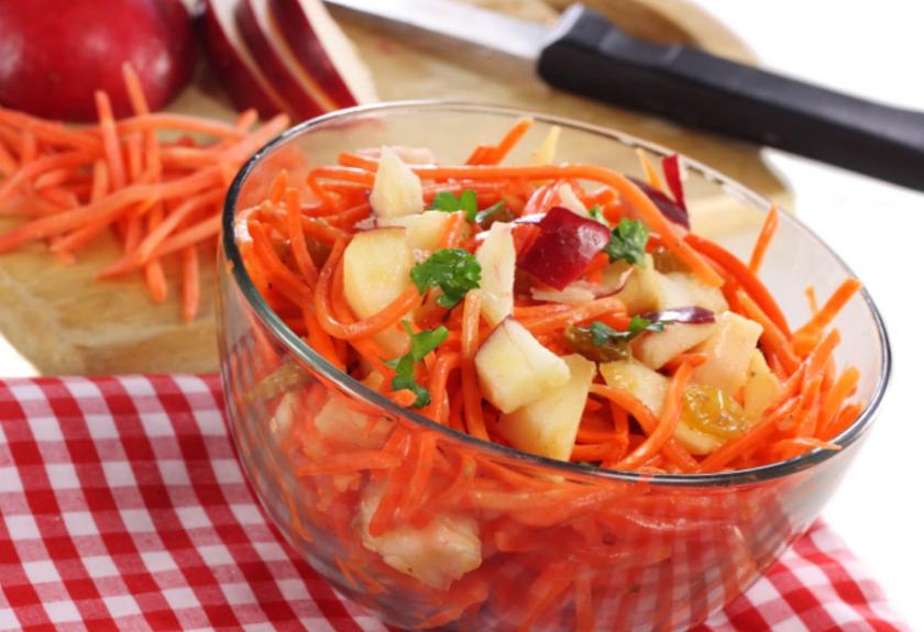 Resep Salad Wortel Kombinasi Apel dan cara membuatnya