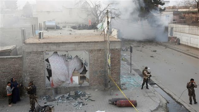 One killed as explosion rocks employees' bus in Afghan capital Kabul