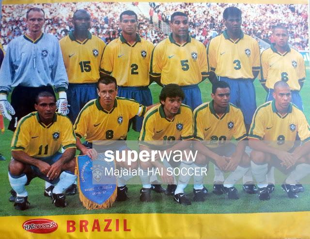 Squad Brasil 1997
