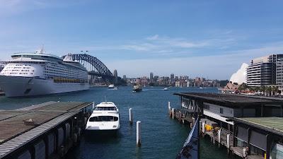 Terminal de cruzeiro em Sidney