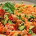 Salata colorata: quinoa cu legume si naut