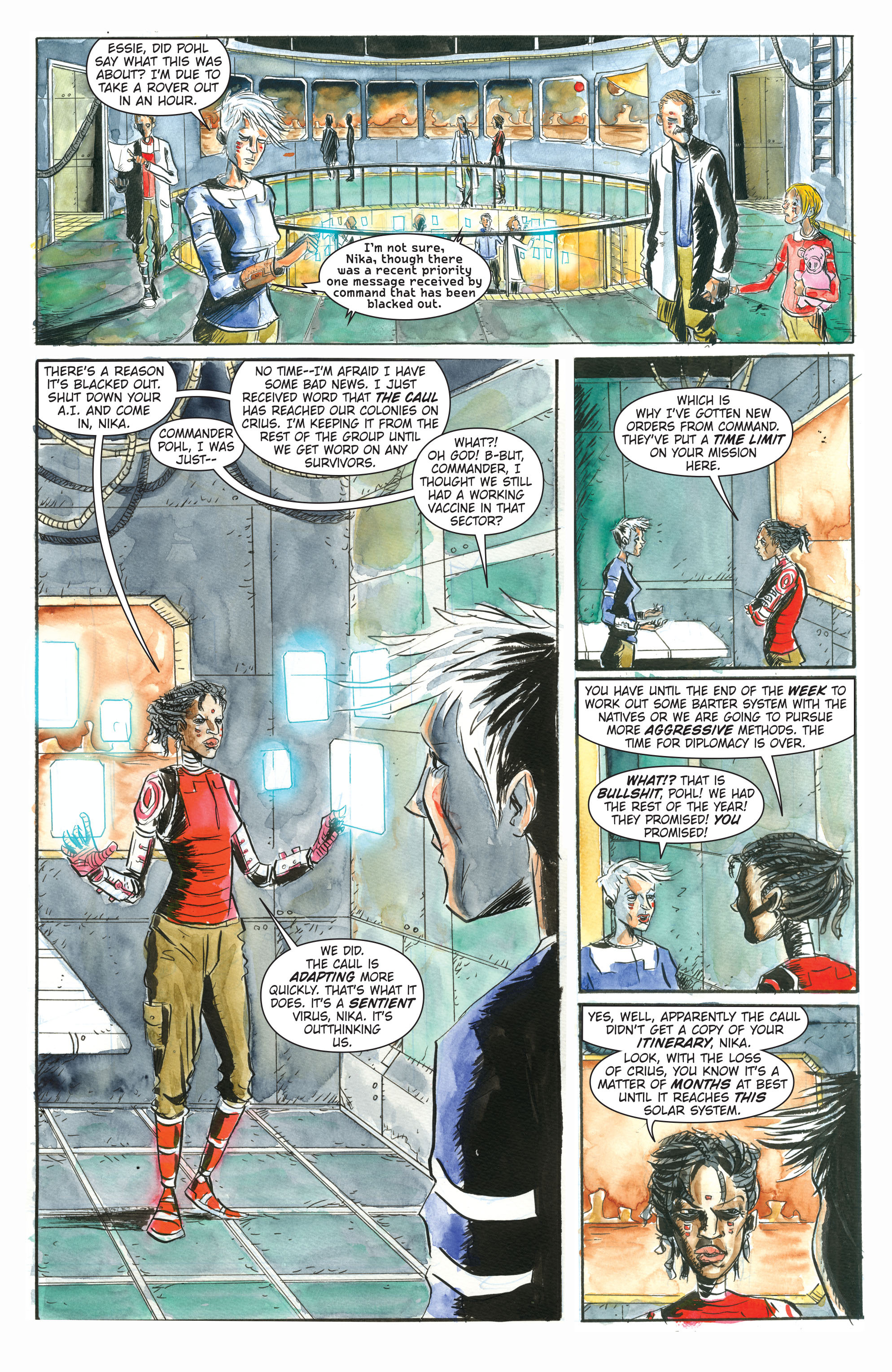 Read online Trillium comic -  Issue # TPB - 9