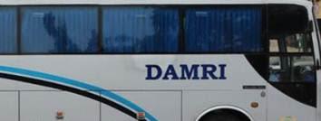 Bus Damri Lampung Timur