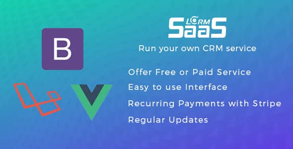 LCRM SAAS - Run your own SAAS CRM