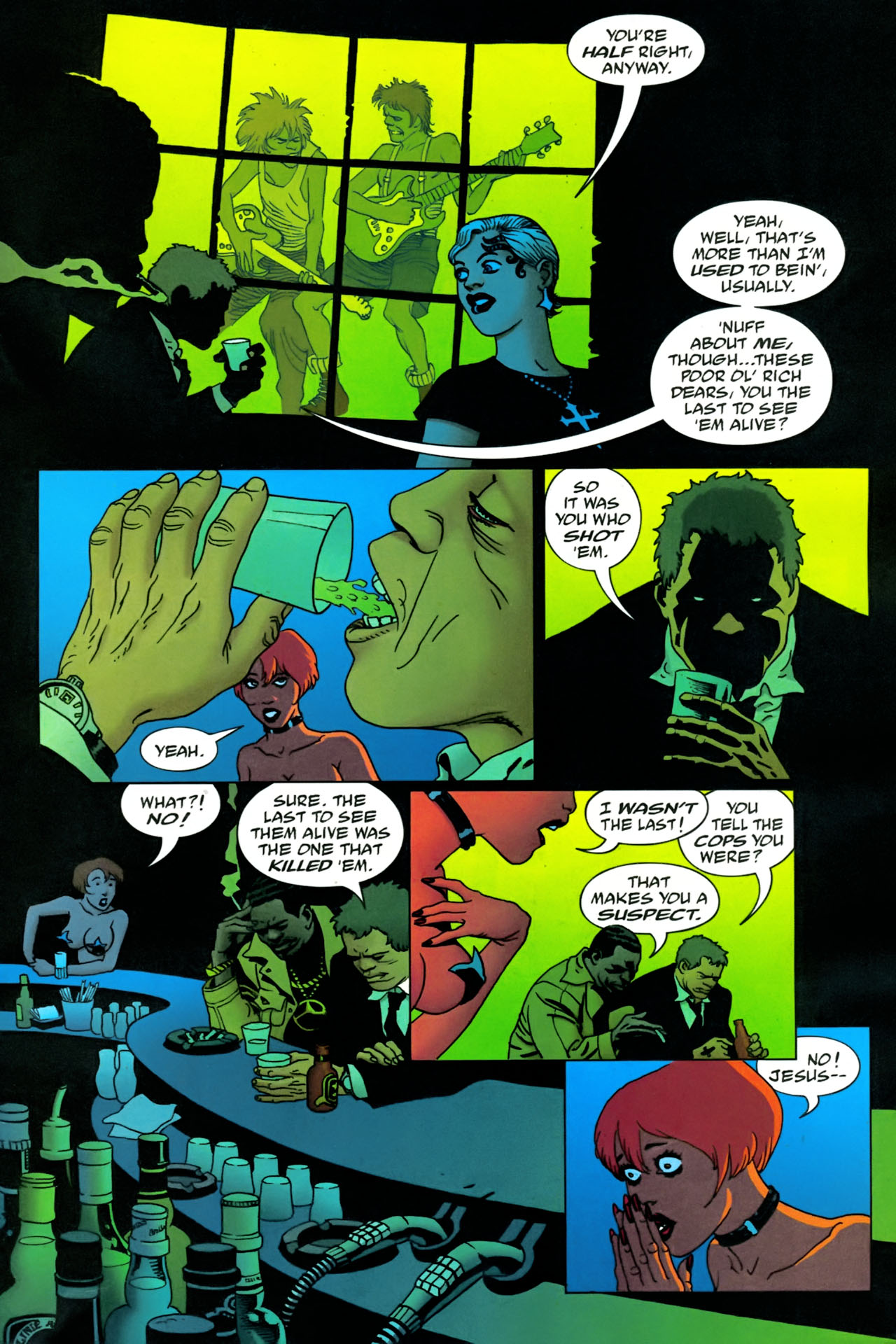 Read online 100 Bullets comic -  Issue #86 - 12
