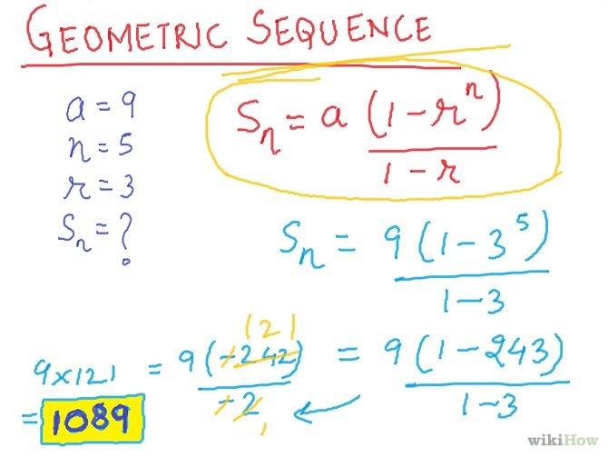 Maths GEOMETRIC PROGRESSION