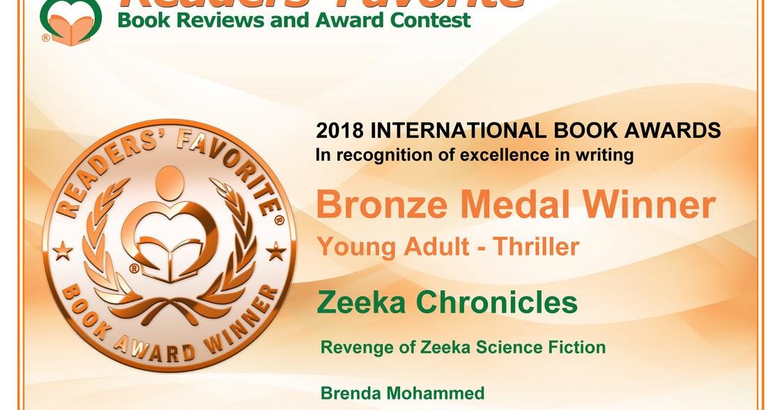 Winners in Readers Favorite International Awards 2018