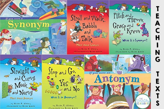 How about a few book recommendations to enhance your synonym and antonym instruction? I've collected them all on my Amazon Influencer page!