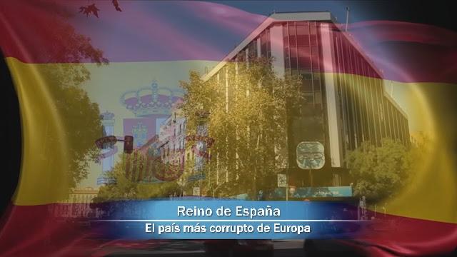 EL PAÍS MÁS CORRUPTO DE EUROPA