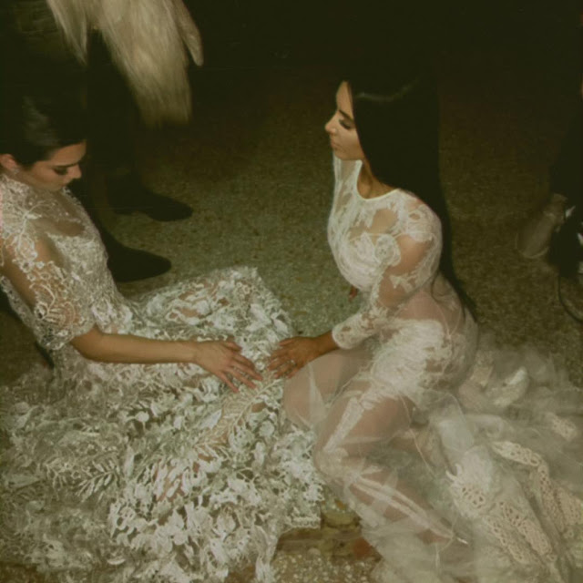 Kim-Kardashian-in-gorgeous-white-dress-image-on-Instagram